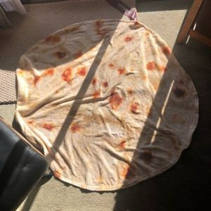 medium size burrito blanket